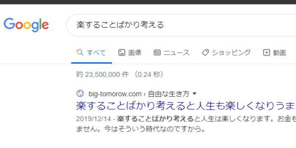 検索上位表示