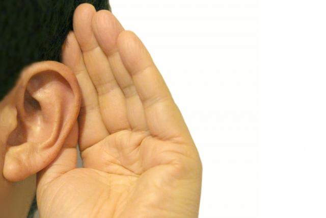 耳の遠い人